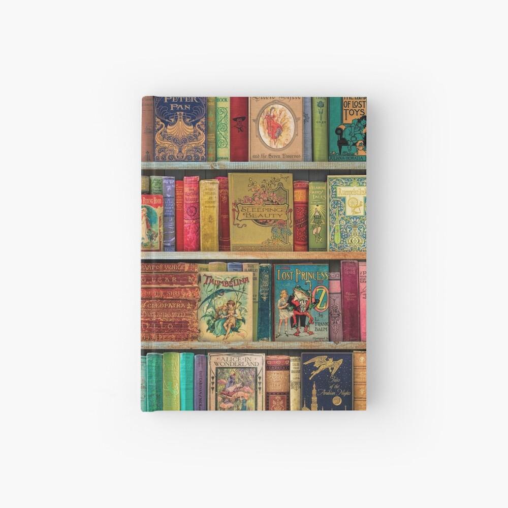 A Daydreamer's Book Shelf Hardcover Journal
