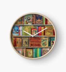 A Daydreamer's Book Shelf Clock