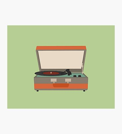 Put Your Records On Photographic Print
