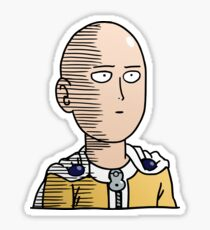 One Punch Man / OPM - Saitama Ok (Col) Sticker