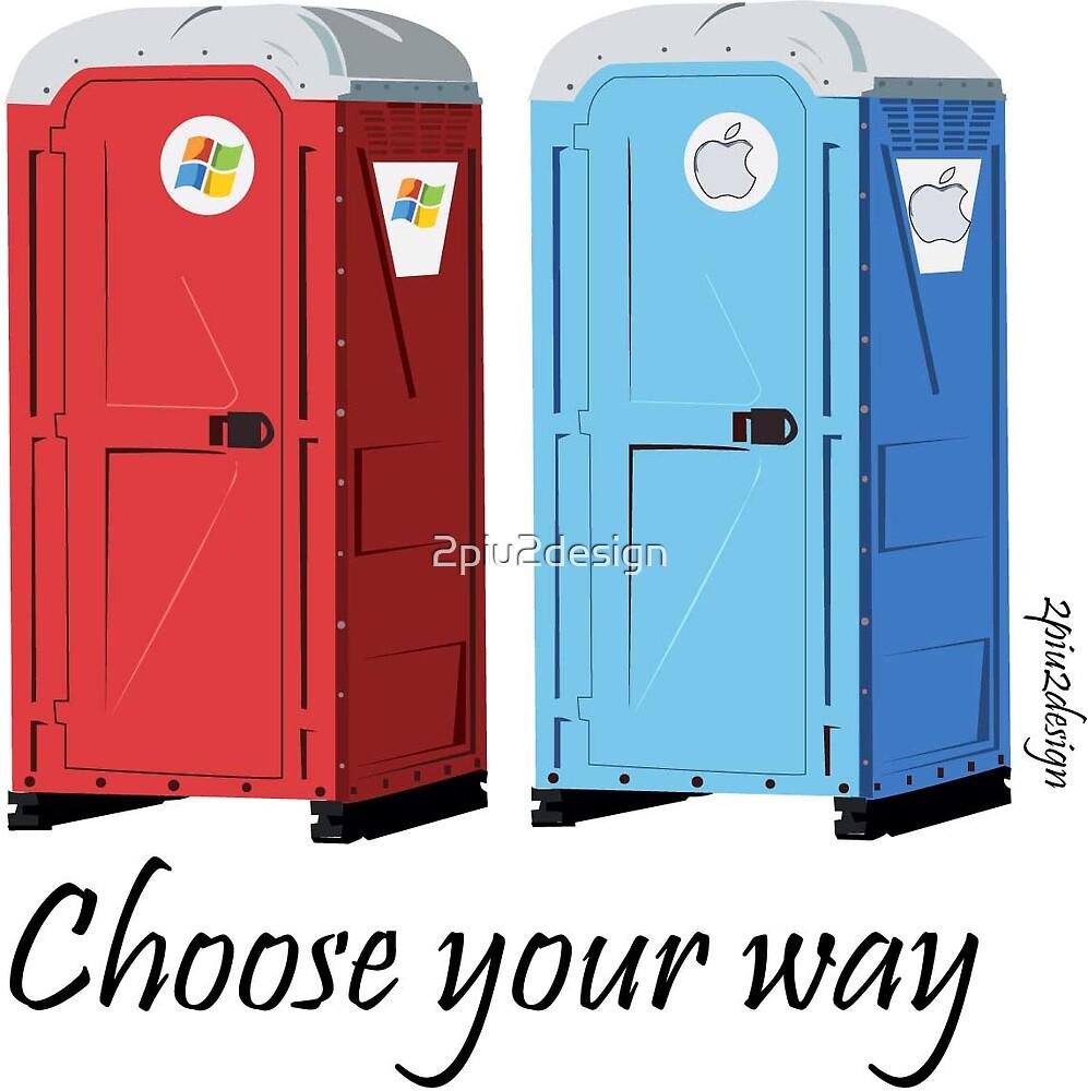 choose your way by 2piu2design