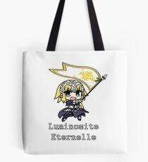 Jeanne d'arc Chibi banner Tote Bag