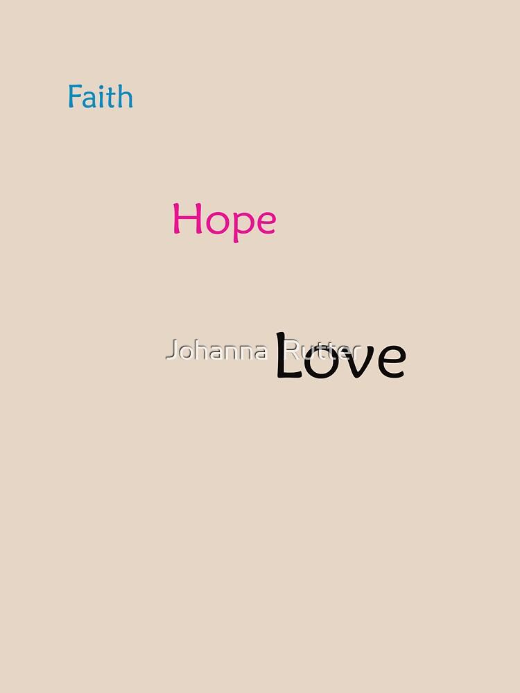 Faith, Hope, Love, The greatest is LOVE! by JRae1983