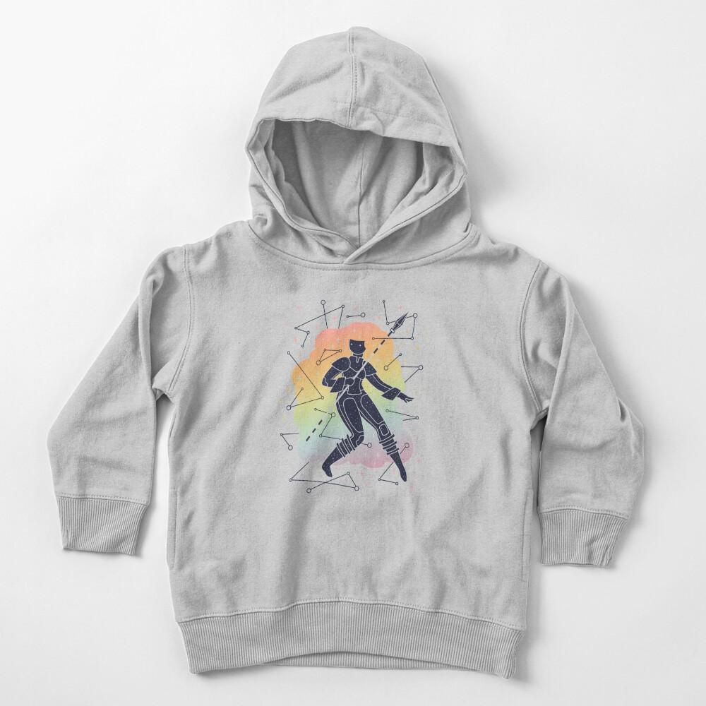 Rainbow Warrior Toddler Pullover Hoodie