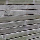 wooden fence by Angel35