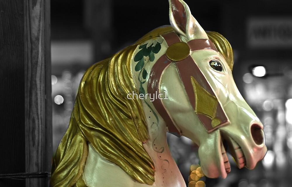 Carousel Horse by cherylc1
