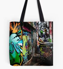 Melbourne graffiti Tote Bag