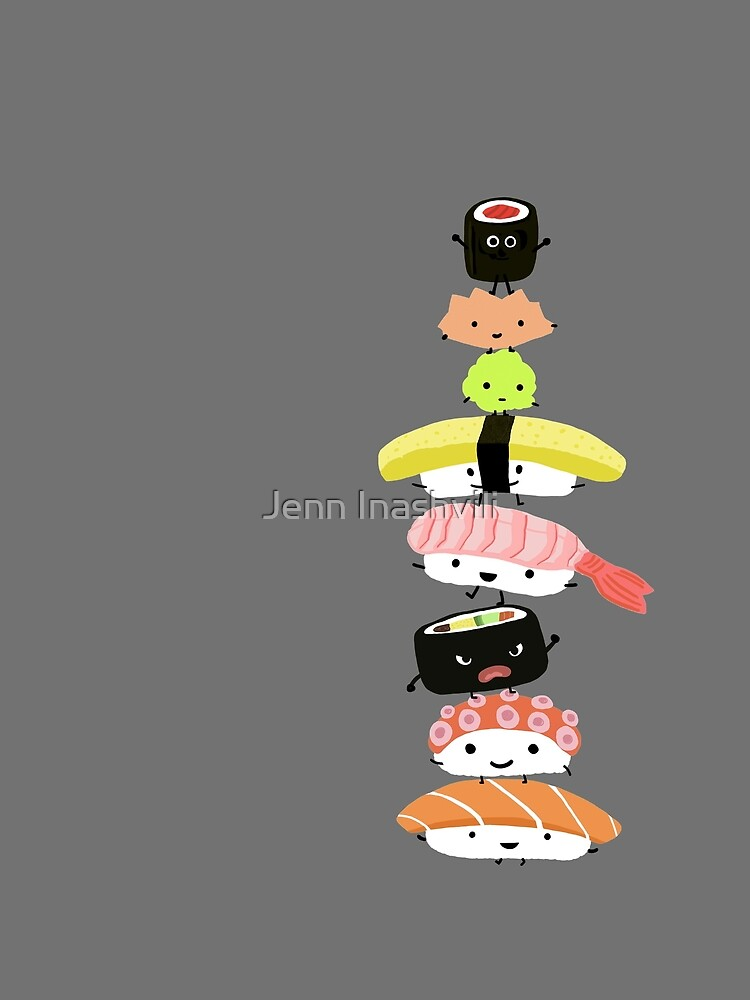 Sushi Stack by ShortCoffee
