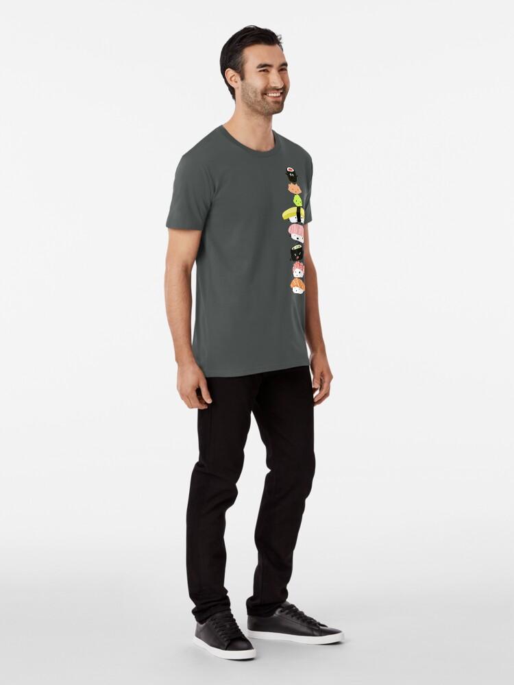 Alternate view of Sushi Stack Premium T-Shirt