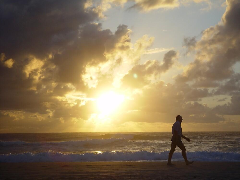 Beach Sunrise by Chris Filer