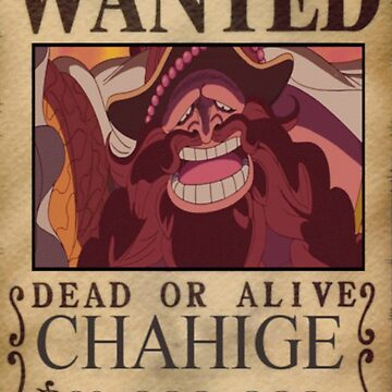 Wanted Chahige - One Piece by yass-92