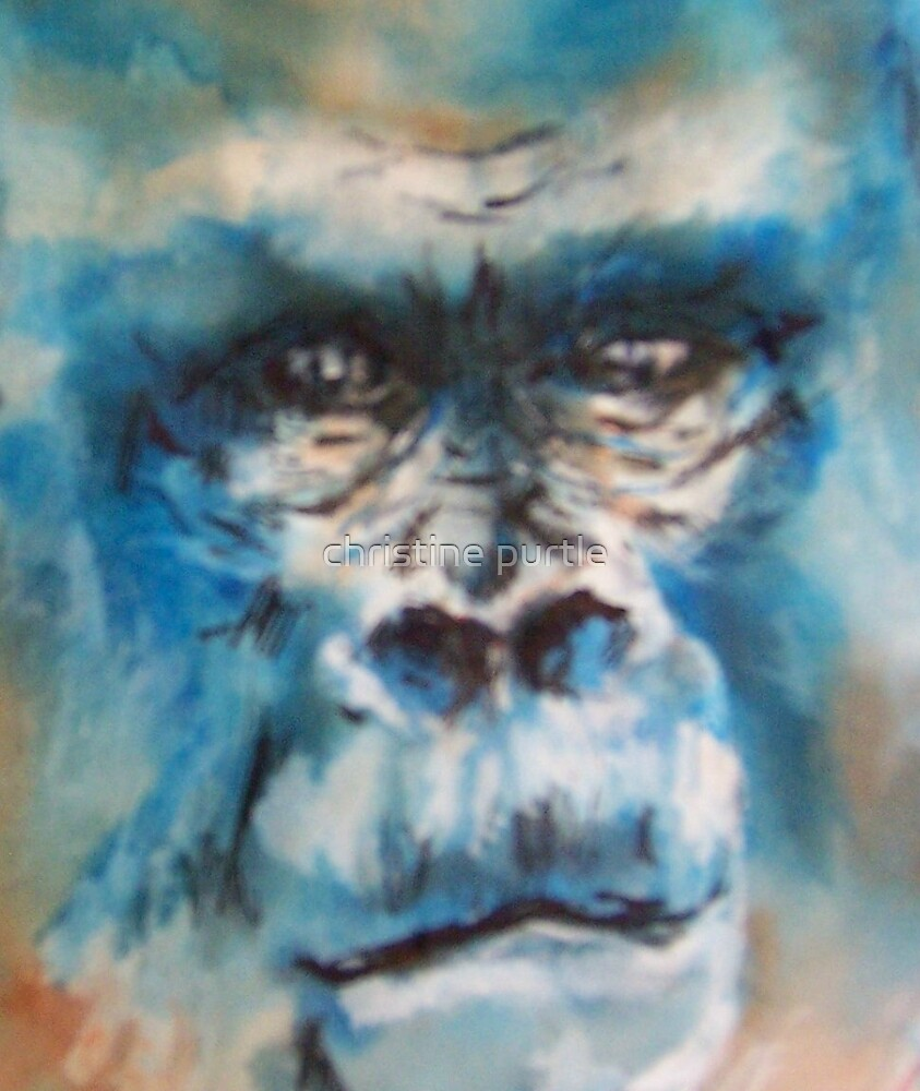 gorilla by christine purtle