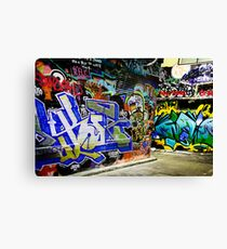 Melbourne Graffiti Artists Canvas Print