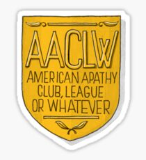 AACLW Sticker