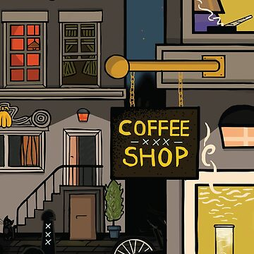 Coffee Shop by shanerounce