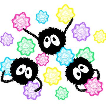 Soot Sprite Candy Party by Poofette