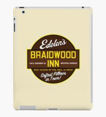 """Braidwood Inn - Wichita KS"" - Motel on ""Planes, Trains & Automobiles"" iPad Case/Skin"