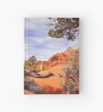 Unique desert beauty at Kodachrome Park in Utah Hardcover Journal