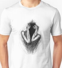 """""""etching 17 - midnight"""" Apple Pencil drawing T-Shirt"""
