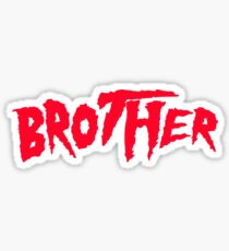 "Hulk Hogan ""Brother"" Sticker"