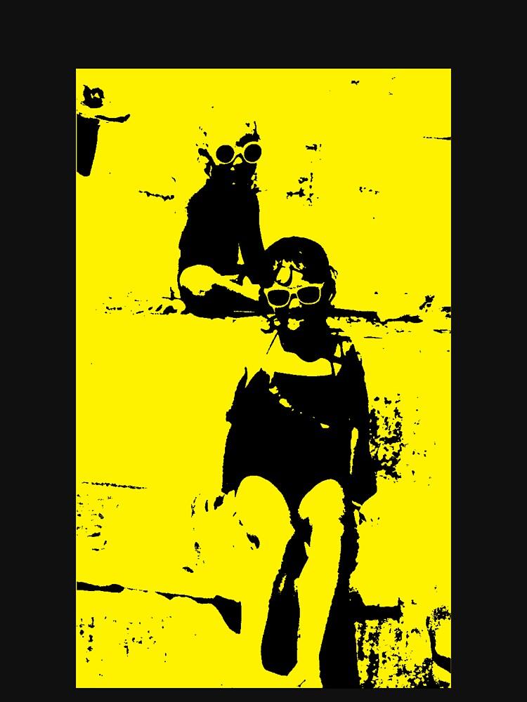 Yellow Beach by chloebrown