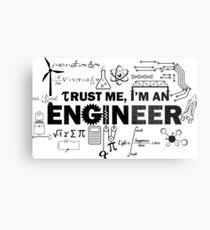Engineer Humor Metal Print