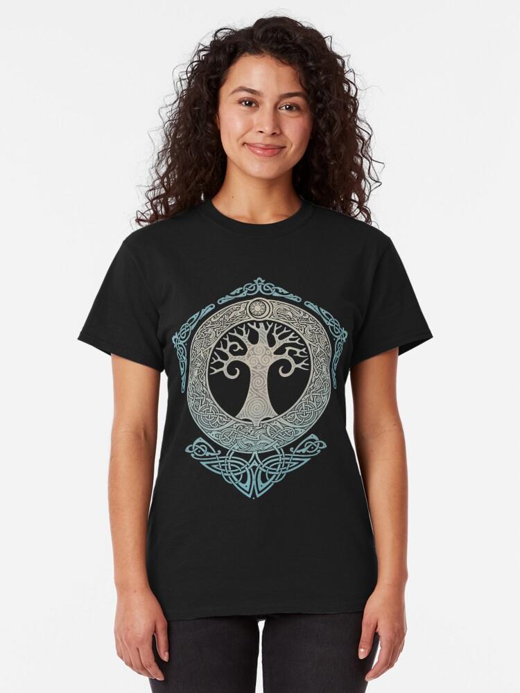 Alternative Ansicht von YGGDRASIL.TREE DES LEBENS. Classic T-Shirt