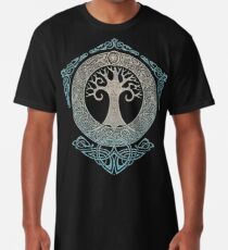 Camiseta larga YGGDRASIL.TREE OF LIFE.