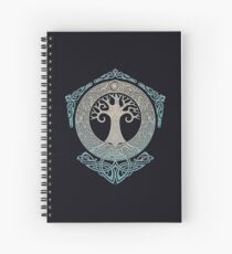 YGGDRASIL.TREE OF LIFE. Spiral Notebook