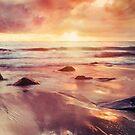 Blacks Beach Sunrise by Jemma Ryan