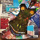 Mossy Book Worm by AimeeBungardArt