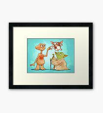 Out Of This World! Framed Print