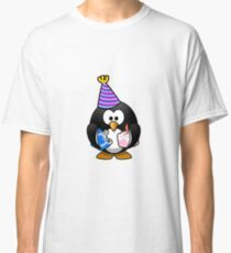 Happy Birthday from Tux Classic T-Shirt
