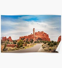 Picturesque View at Kodachrome Basin State Park Poster