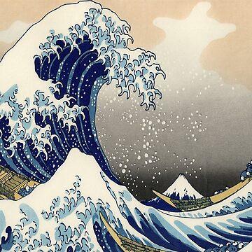Hokusai - Kanagawa by BrendanHouse