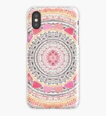 Pastel Bohemian Mandala iPhone Case/Skin