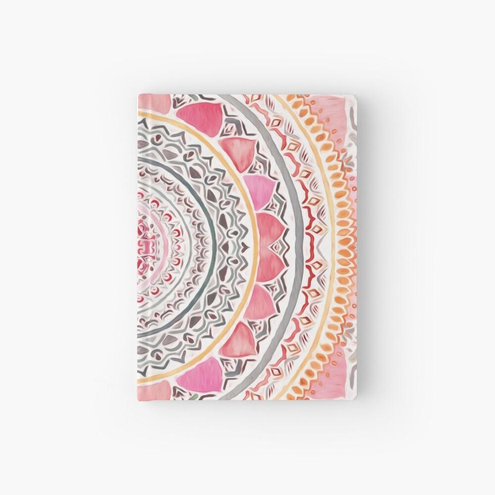 Pastel Bohemian Mandala Hardcover Journal