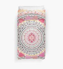 Pastell böhmische Mandala Bettbezug