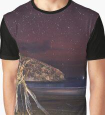 Night Teepee Graphic T-Shirt