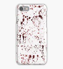 Red Ink Splatter iPhone Case/Skin