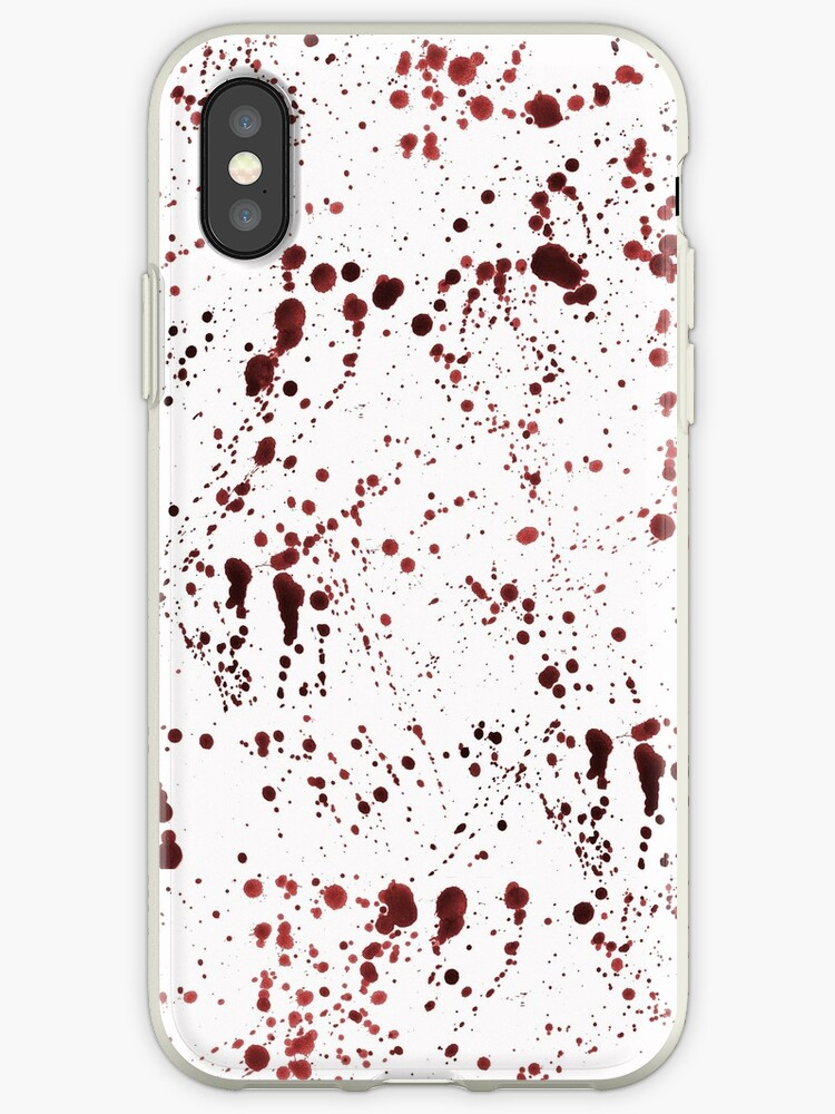 Red Ink Splatter by pondripple