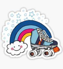 Skate & Glam Sticker