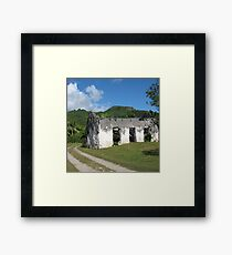 Abandoned in Rarotonga Framed Print