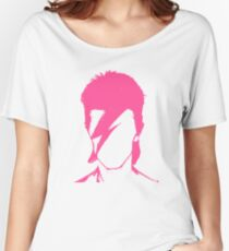 ROCK N ROLL STAR #pink Women's Relaxed Fit T-Shirt