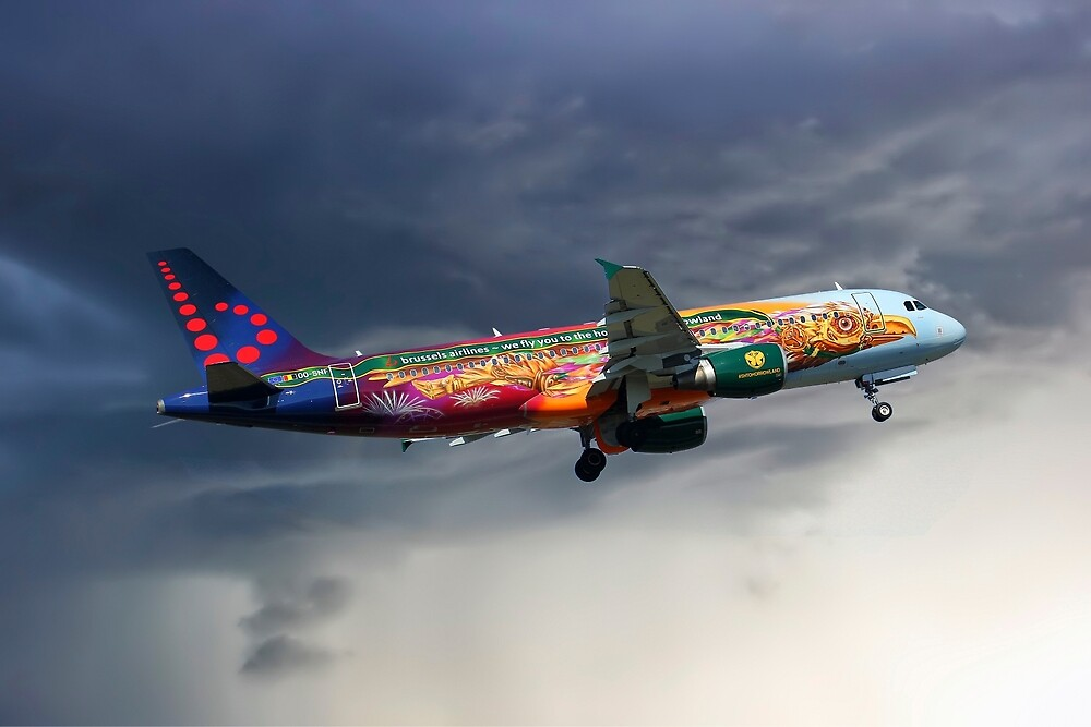 Brussels Airlines Airbus A320-214 by Smart Aviation