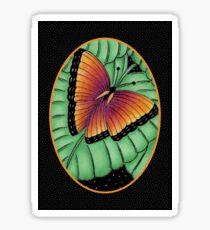 Midnight Butterfly #3 - Monarch Butterfly Sticker