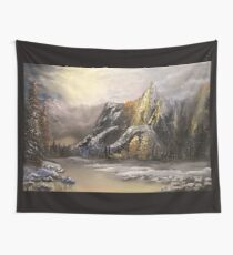 Divine montagne Wall Tapestry
