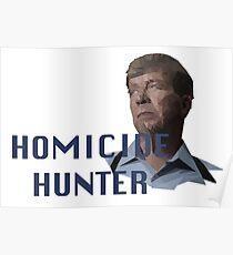 Geometric Joe Kenda - Homicide Hunter Poster