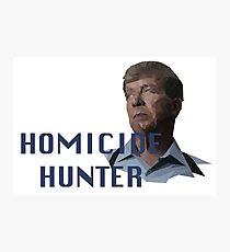 Geometric Joe Kenda - Homicide Hunter Photographic Print