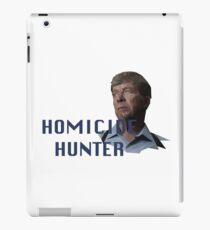 Geometric Joe Kenda - Homicide Hunter iPad Case/Skin